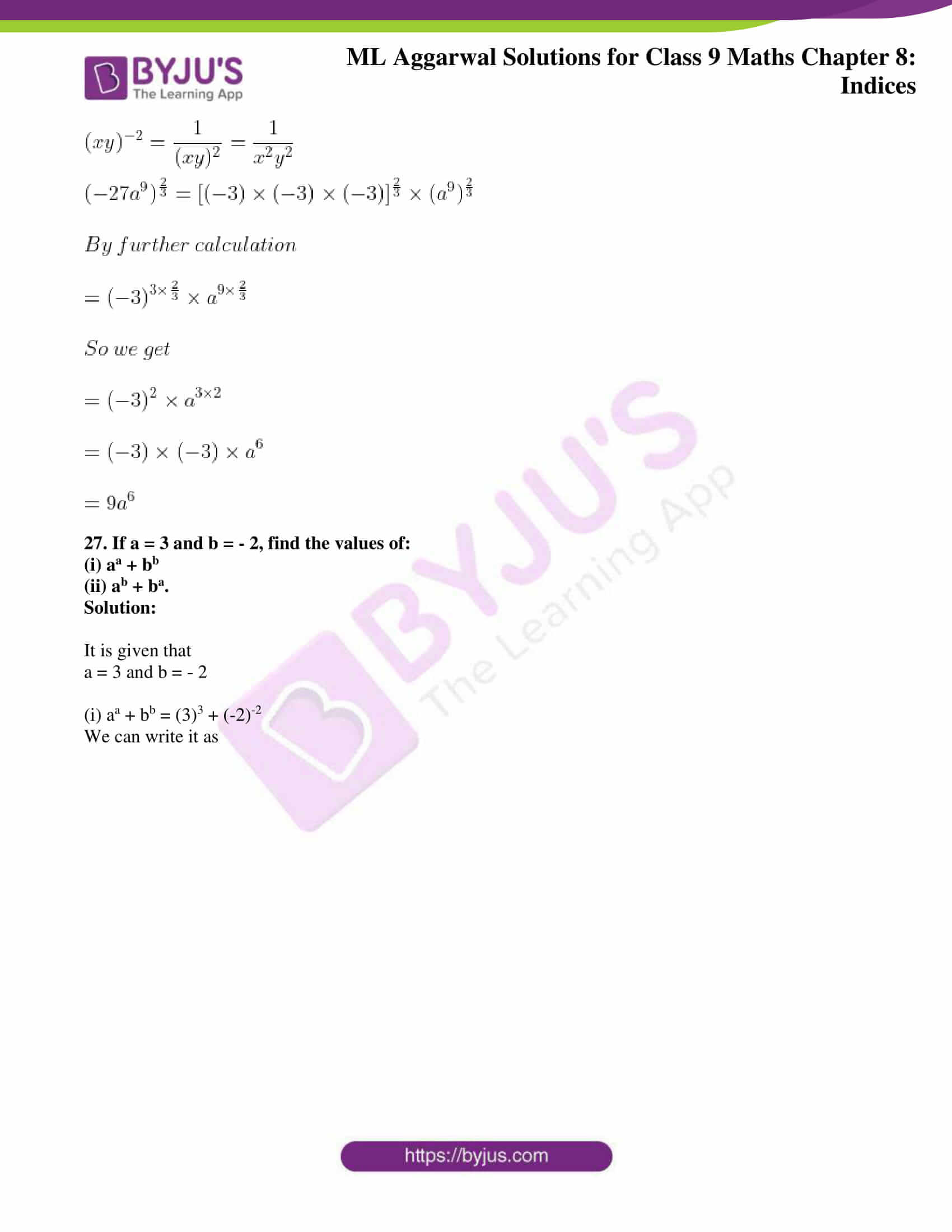 ml aggarwal solutions for class 9 maths chapter 8 29