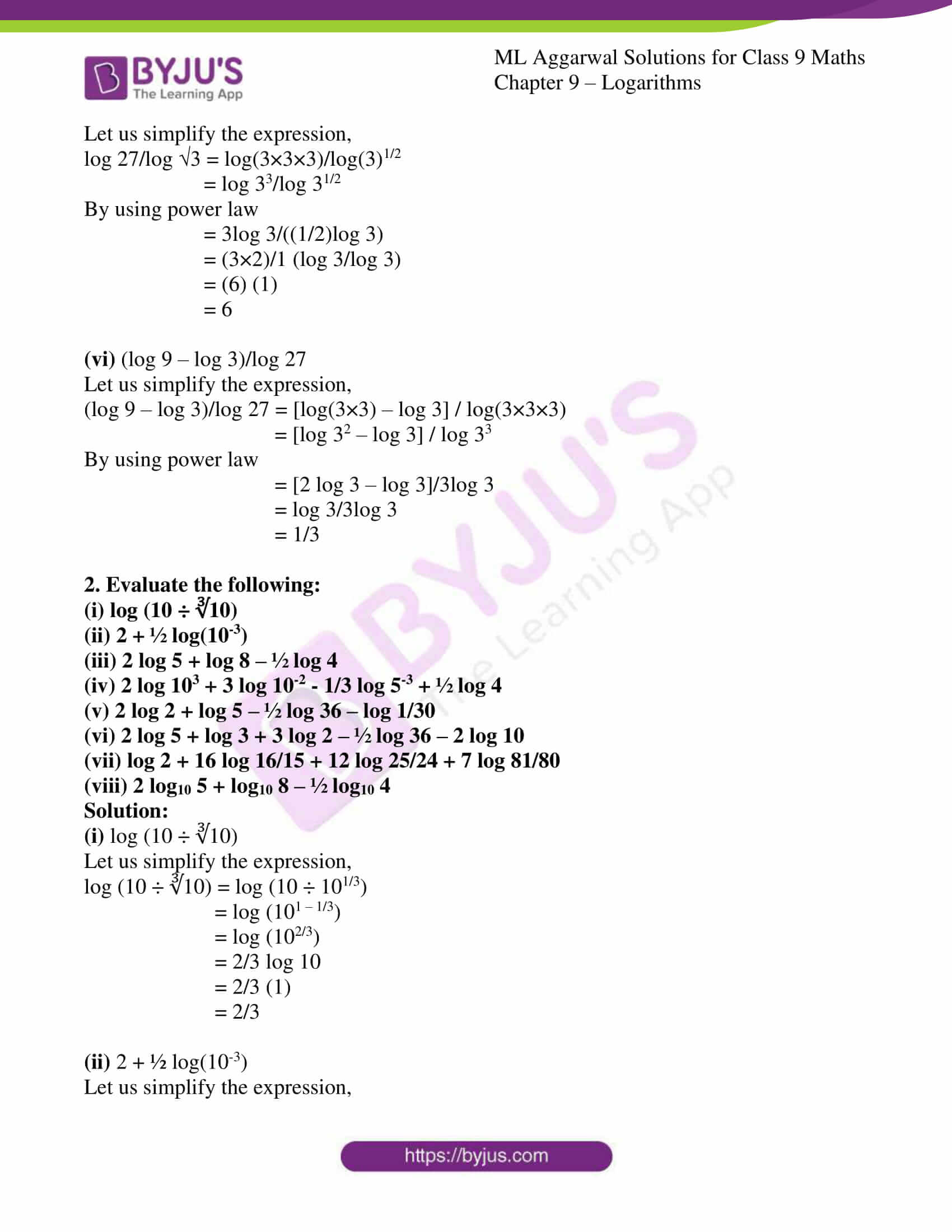 ml aggarwal solutions for class 9 maths chapter 9 13