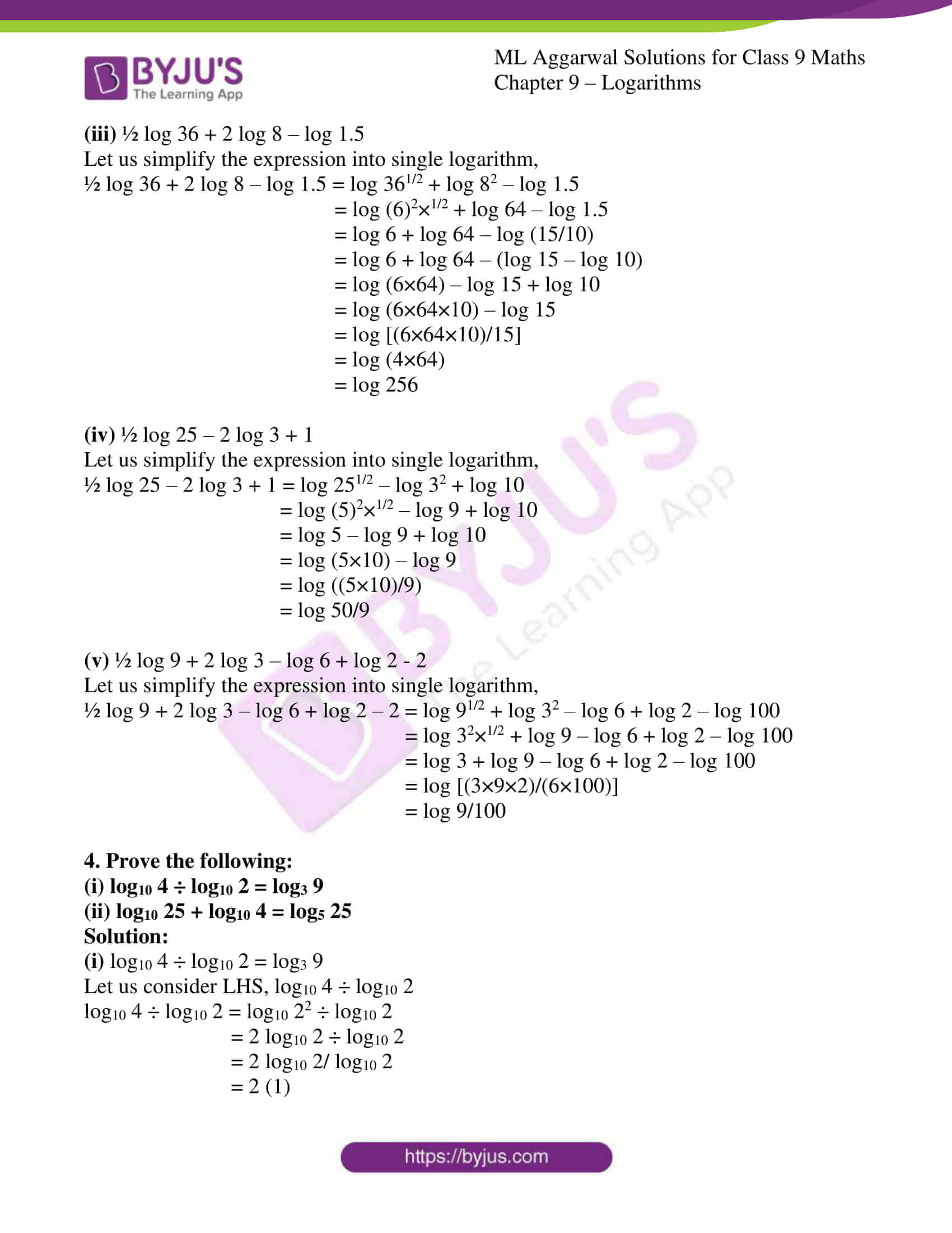 ml aggarwal solutions for class 9 maths chapter 9 17
