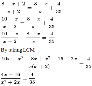 ML Aggarwal Solutions for Class 10 Maths Quadratic Equations in One Variable- image 35
