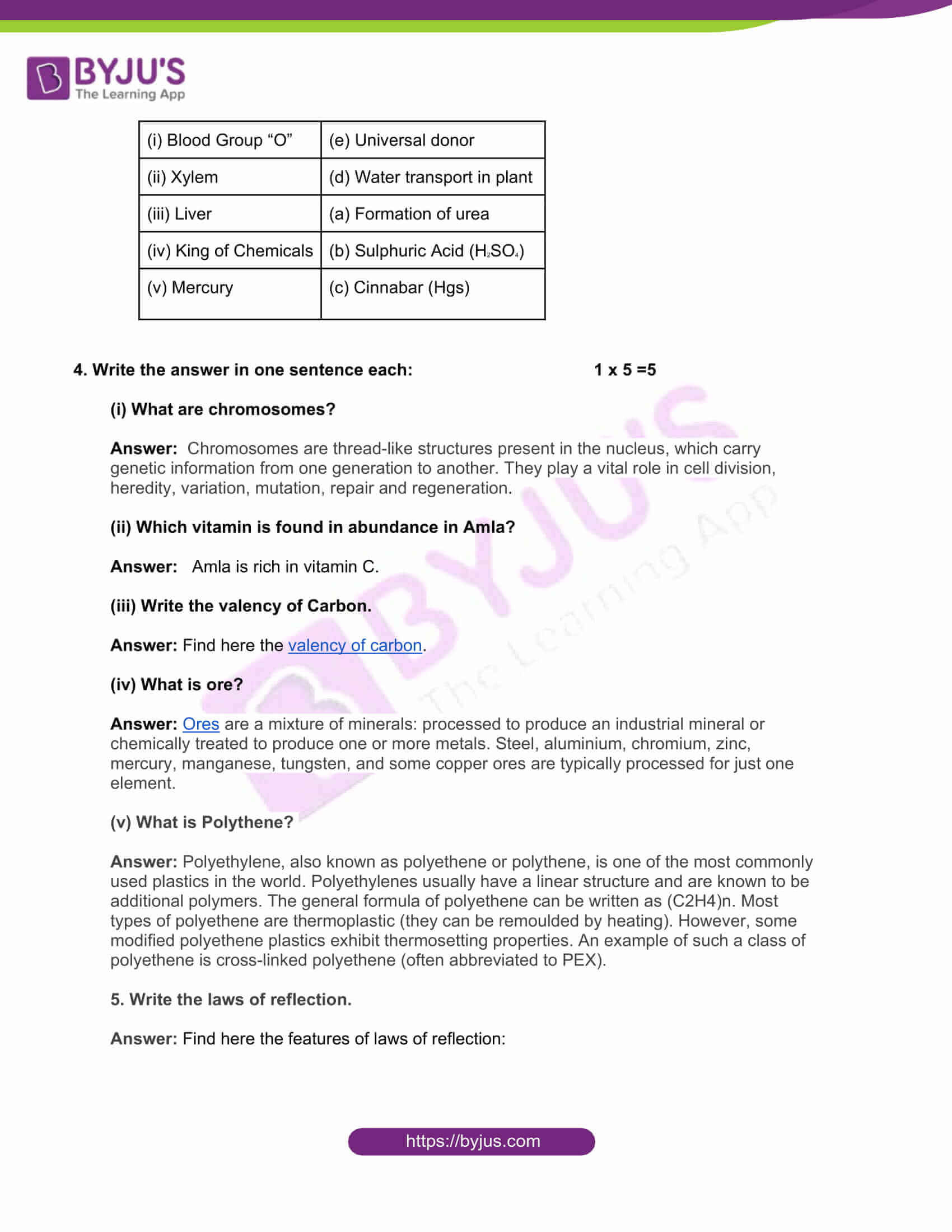 mp board class 10 science 2017 solutions 03