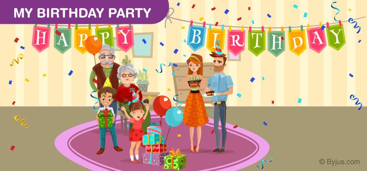 My Birthday Party Essay