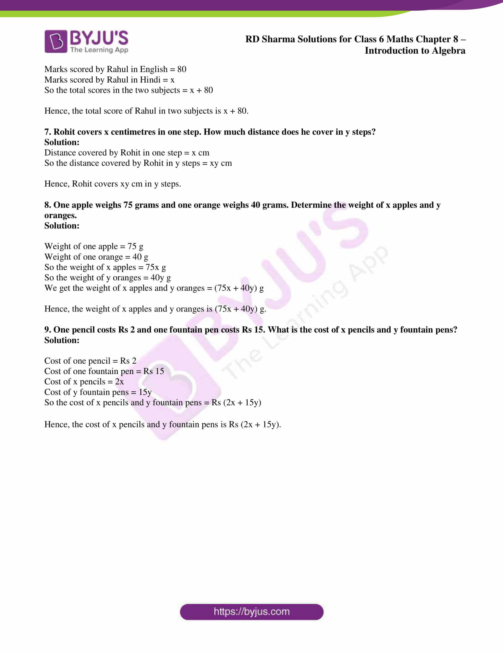 rd sharma class 6 maths solutions chapter 8 ex 1 3