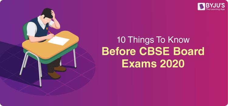 CBSE Board Exams Preparation Tips