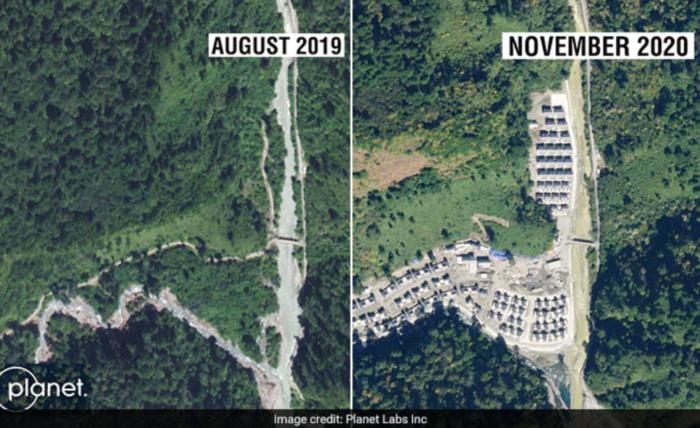 China's village in Arunachal Pradesh