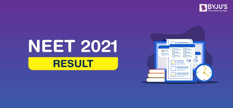 NEET Result 2021