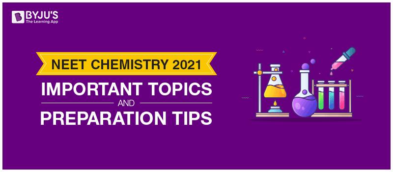 NEET Chemistry 2021