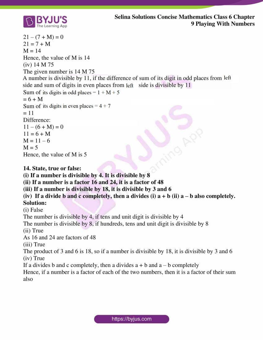 selina sol concise mathematics class 6 ch 9 ex c 11