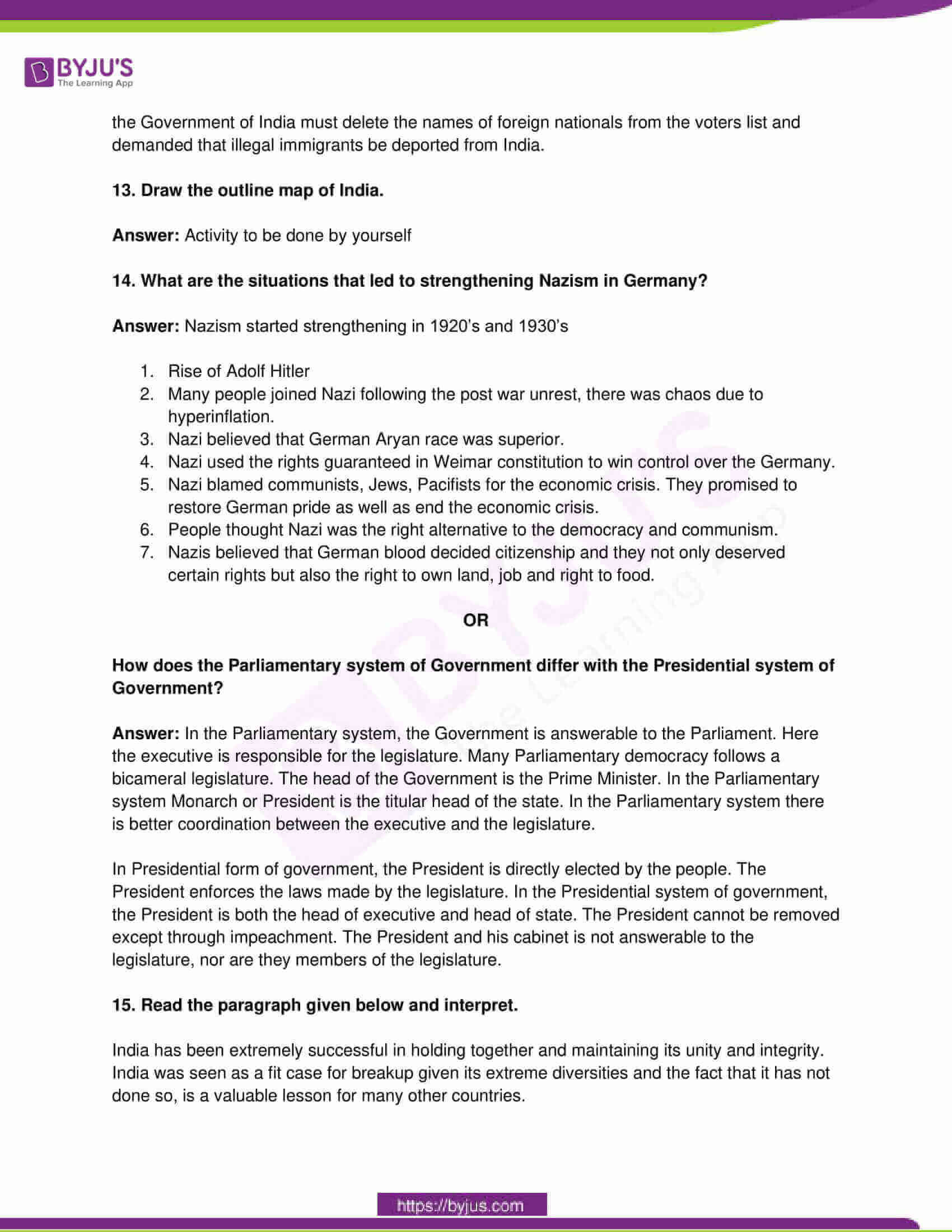 telangana board class 10 social science 2016 paper 2 solutions 4