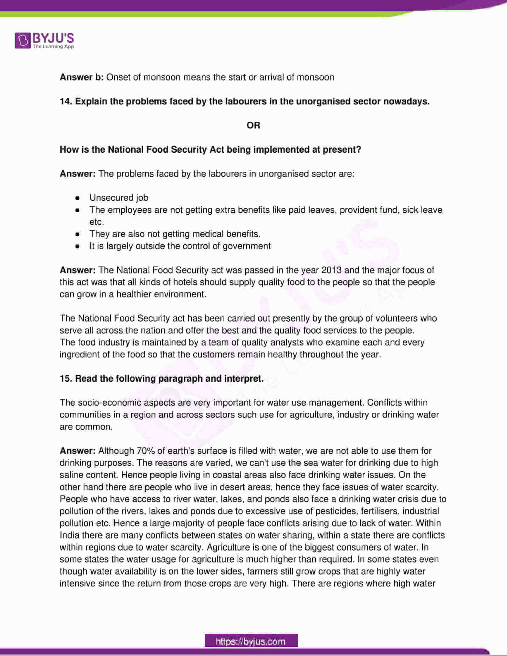 telangana board class 10 social science 2019 paper 1 solutions 5