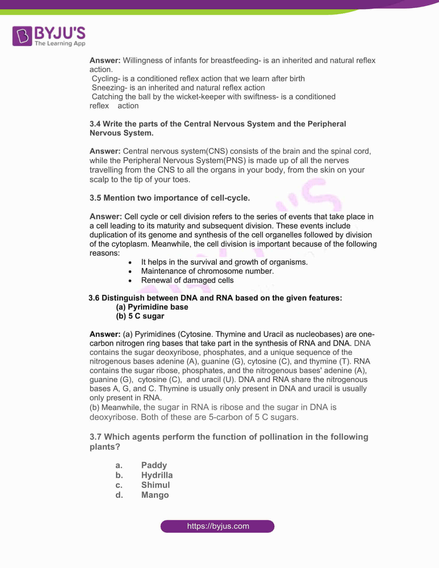 west bengal board class 10 life science 2017 solutions 08