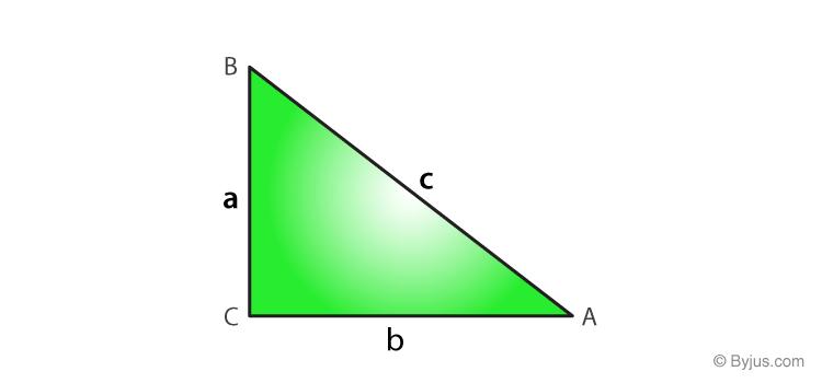 Converse of Pythagoras theorem