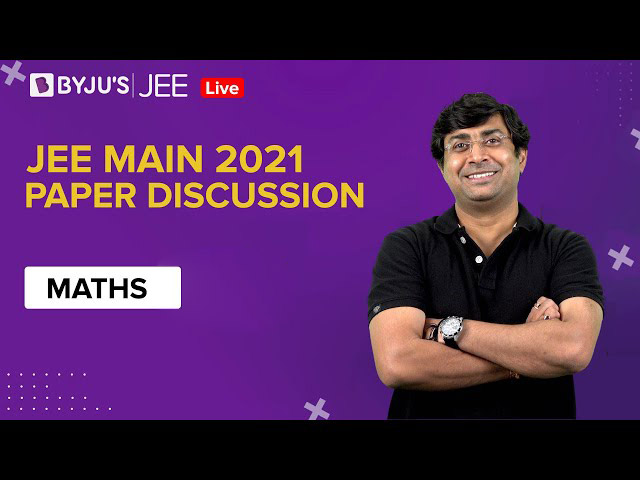 JEE Main 2021 Maths Question Paper - February Session