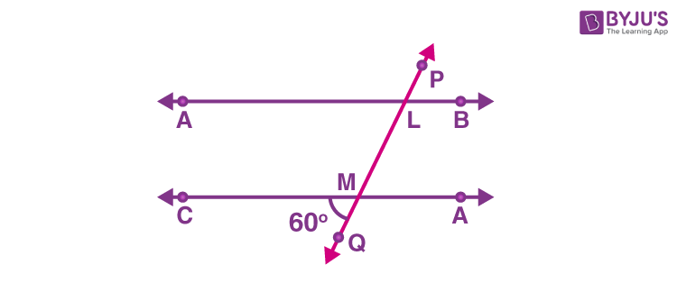 Parallel lines example 2