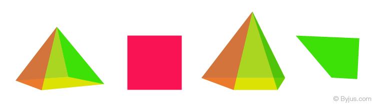 Kim tự tháp thường xuyên và không đều