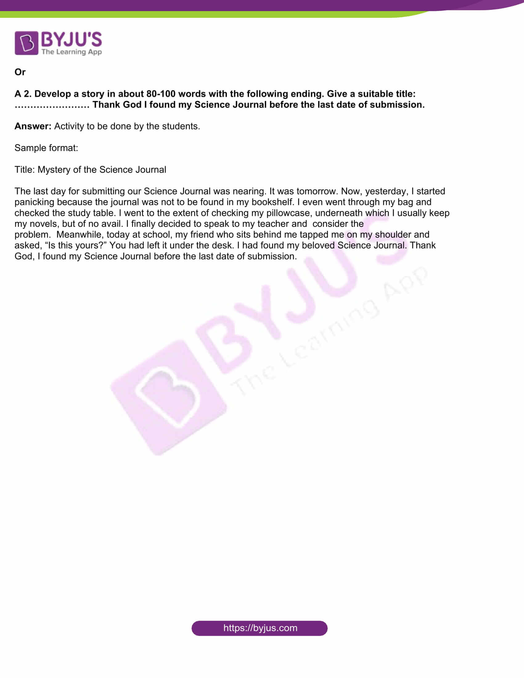 msbshse class 10 english question paper solutions 2015 18