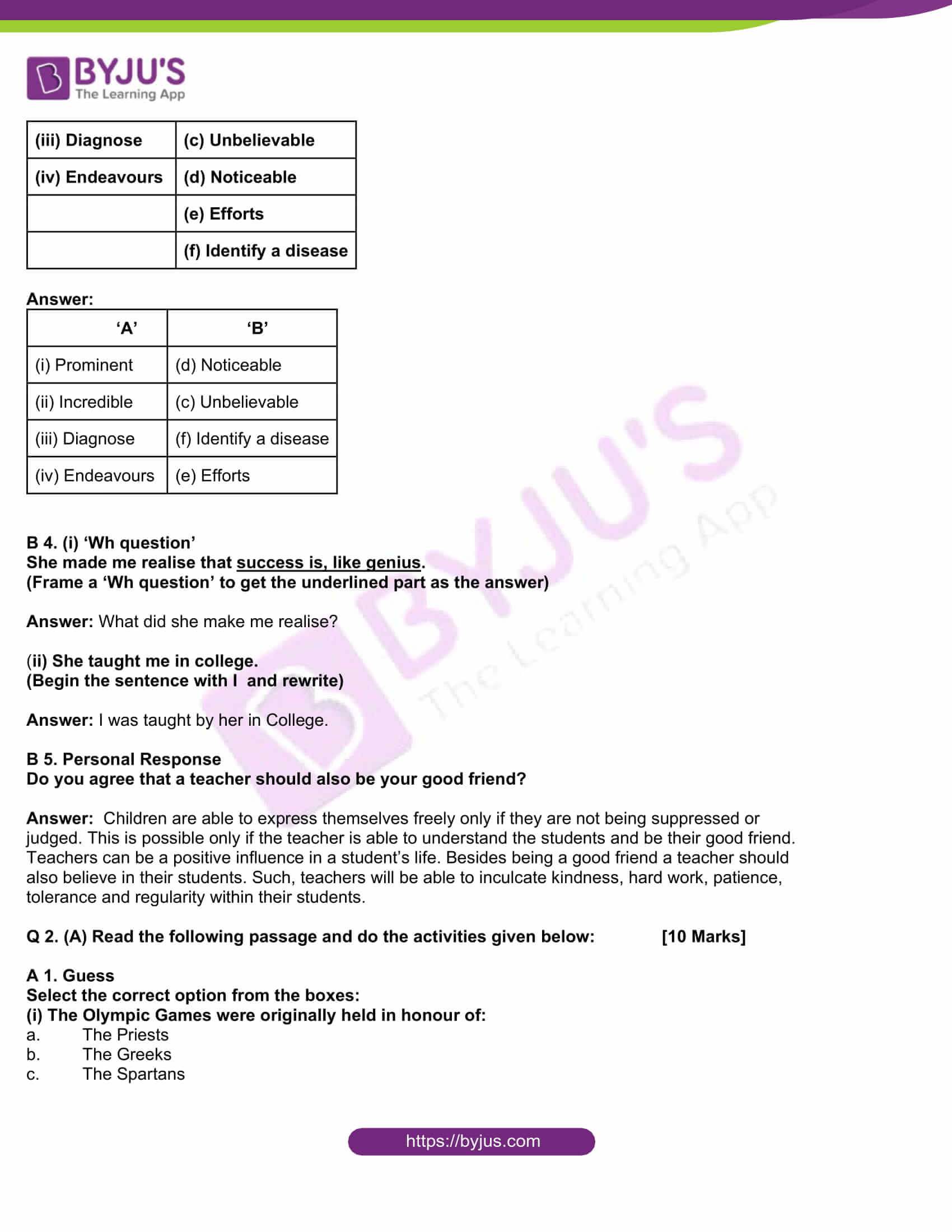 msbshse class 10 english question paper solutions 2016 05