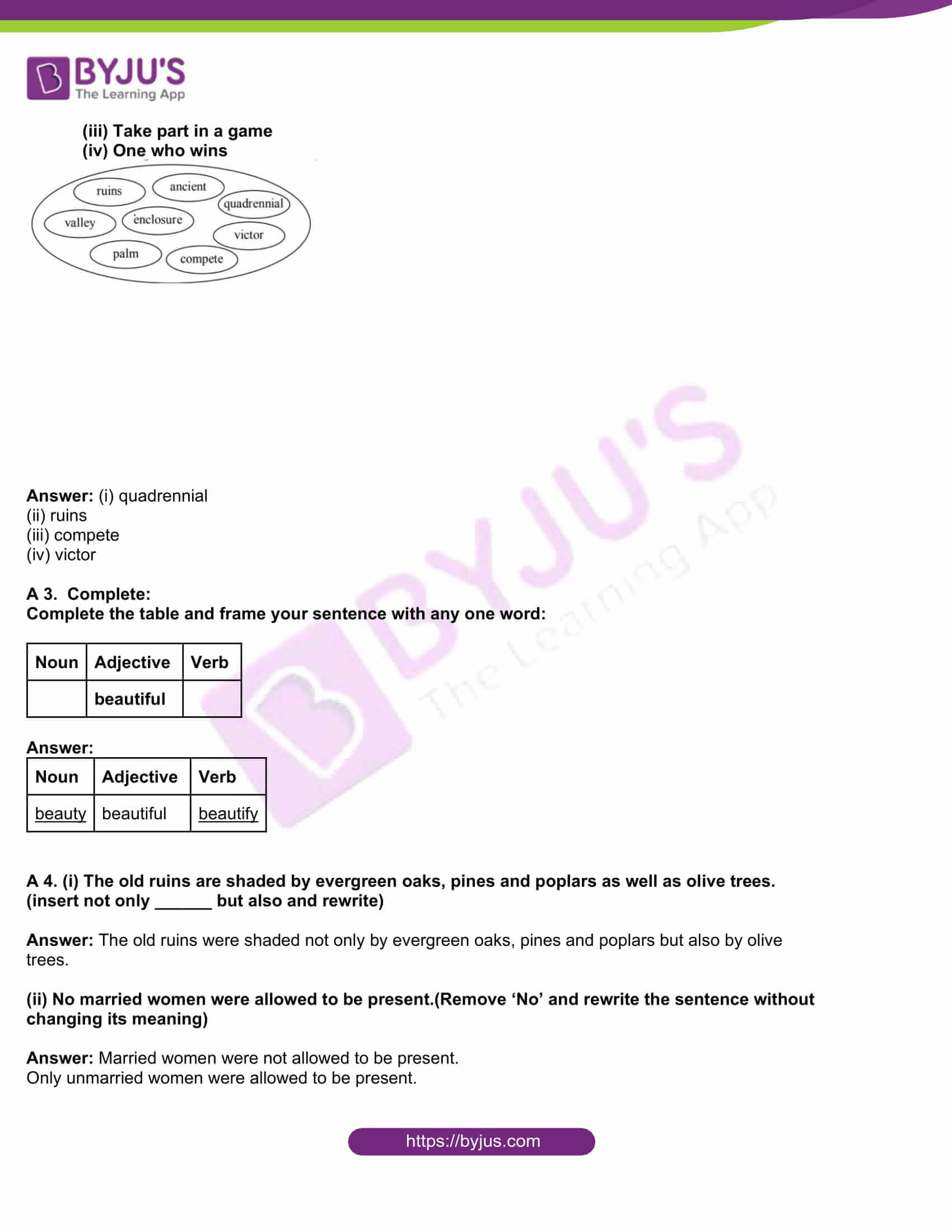 msbshse class 10 english question paper solutions 2016 07