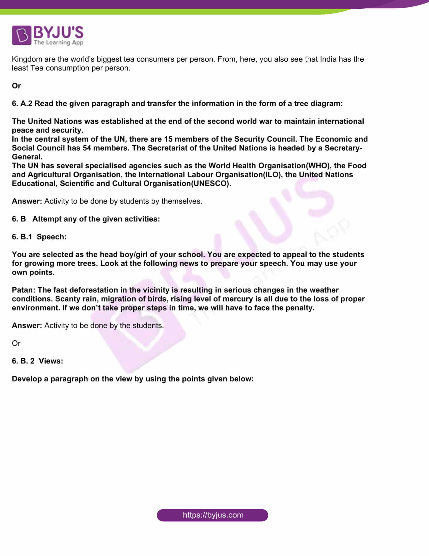 msbshse class 10 english question paper solutions 2018 17