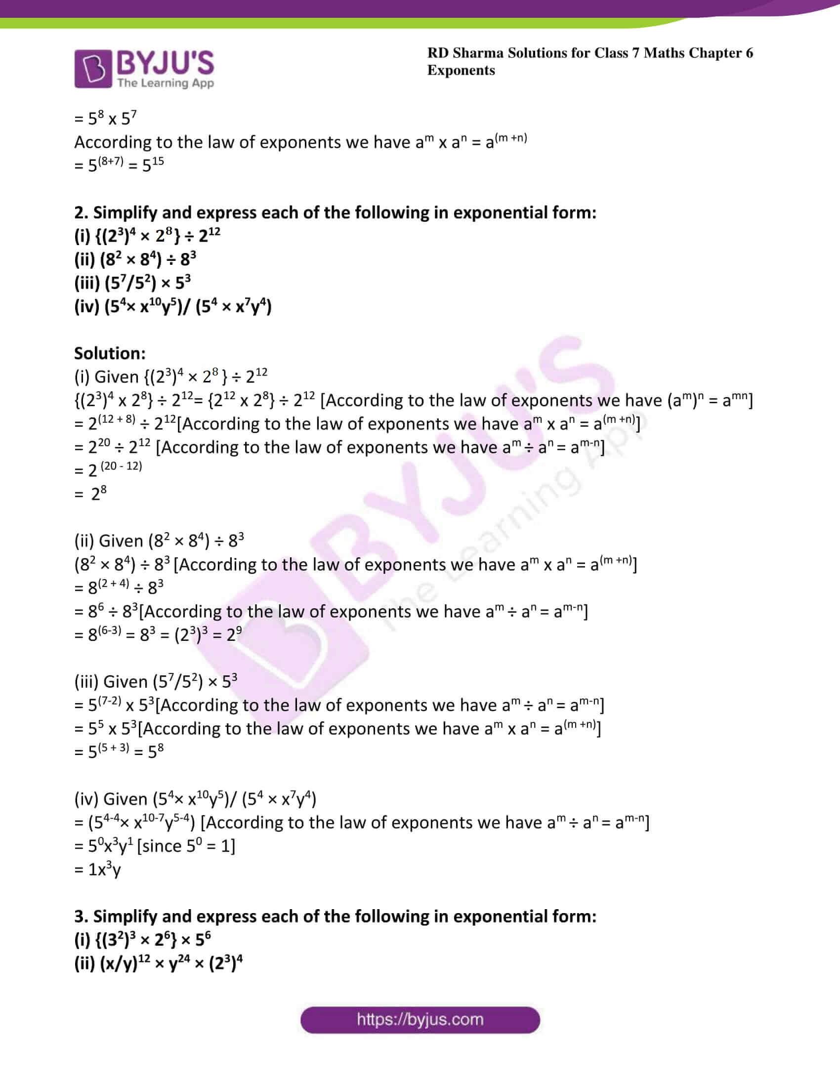 rd sharma class 7 maths solution chapter 6 ex 2