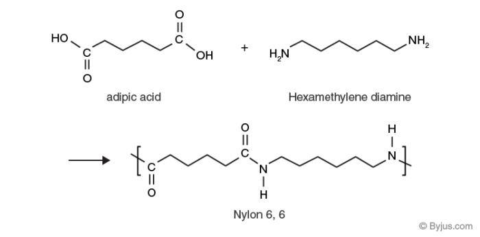 Nylon Condensation Polymerization Reaction