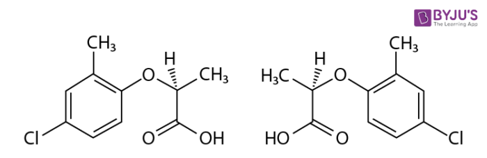 Examples of Enantiomers - Mecoprop