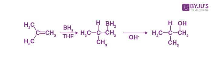 Hydroboration Oxidation Reaction