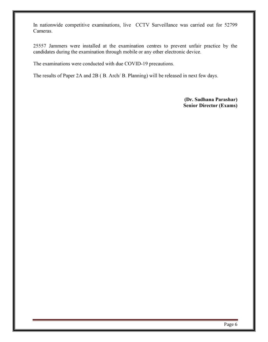 JEE-Main-2021-Paper-2-Scores