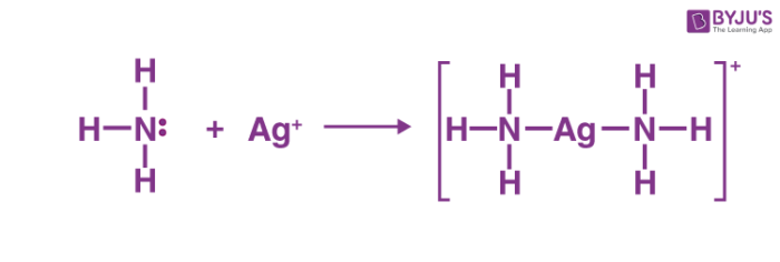 Reaction Between a Lewis Acid and Base Example 1