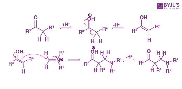 Mannich Reaction Mechanism Step 2