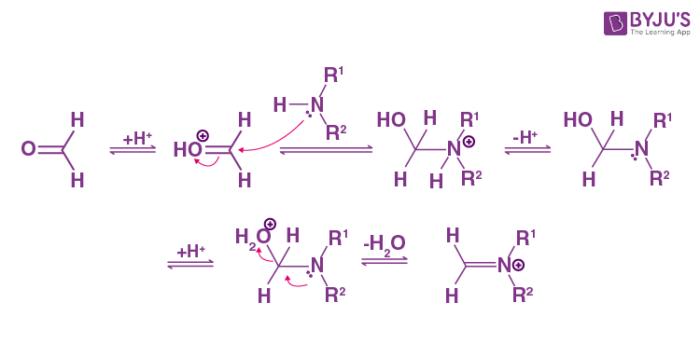 Mannich Reaction Mechanism Step 1
