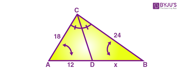 Angle Bisector Theorem- Example 1