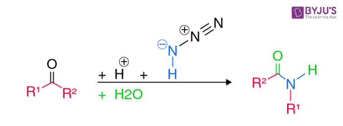 Schmidt Reaction Example for Ketones