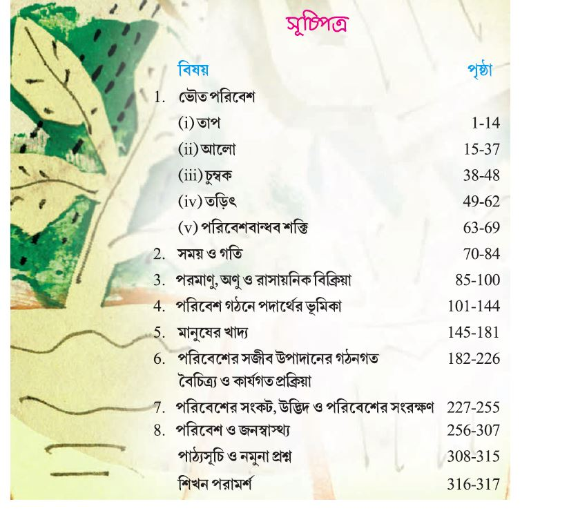 WBBSE-Class-7-Science-Chapters-in-Bengali