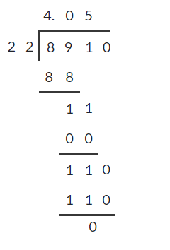 Dividing decimals 9