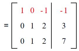 Gauss elimination example sol 4