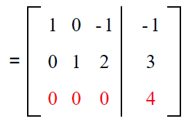 Gauss elimination example sol 5
