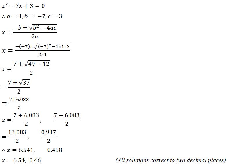 ICSE Class 10 Maths Question Paper Solution 2020-2