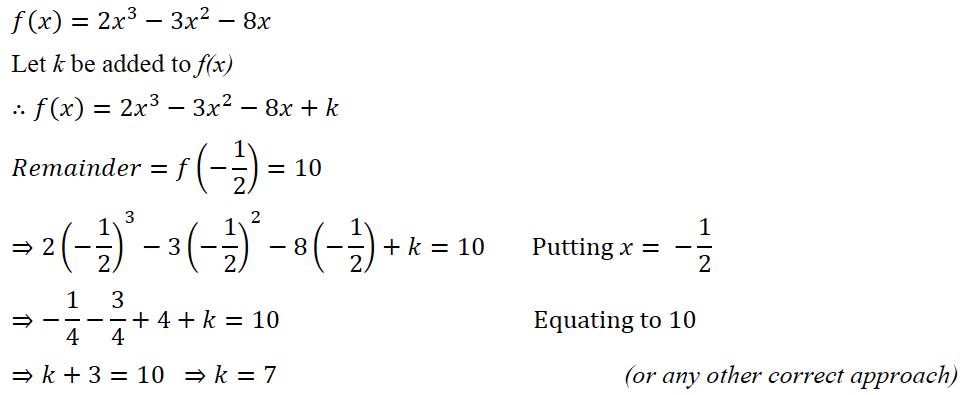ICSE Class 10 Maths Question Paper Solution 2020-33