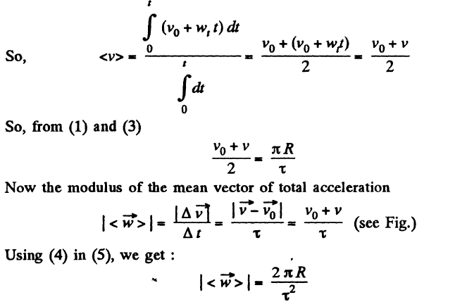 JEE Book Kinematics Papers Solution