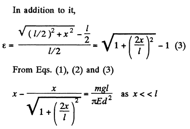 JEE Book Solutions Elastic Deformations Of A Solid Body