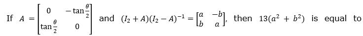 JEE MAIN 2021 Feb 25 Shift 1 Maths Problems Solution