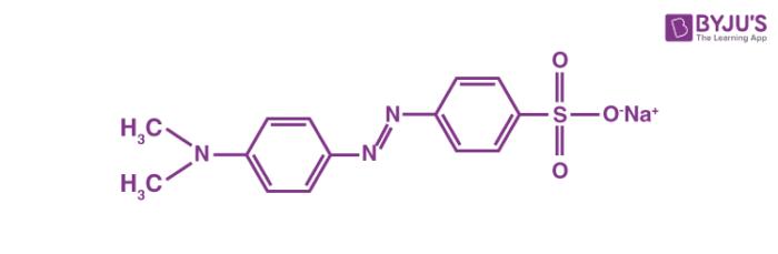 Methyl Orange Structure