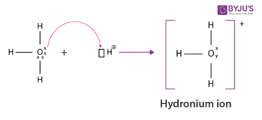 Formation Of Hydronium Ion