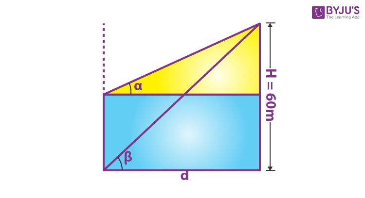 Height and Distance Example 2