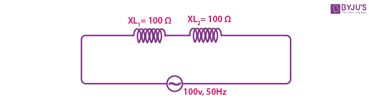 Current In AC Circuit With Inductors