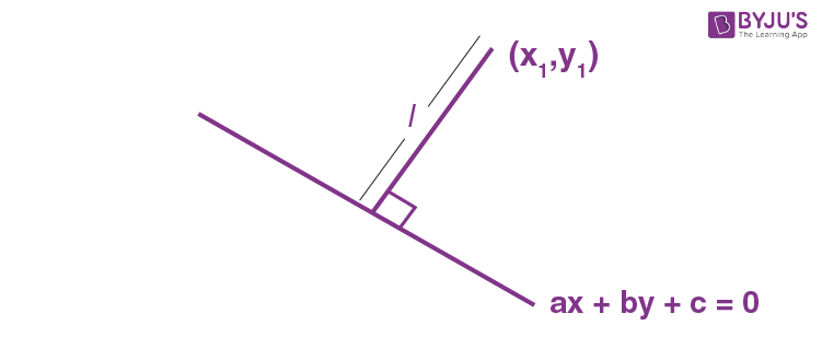 Length of Perpendicular from a Point on a Line