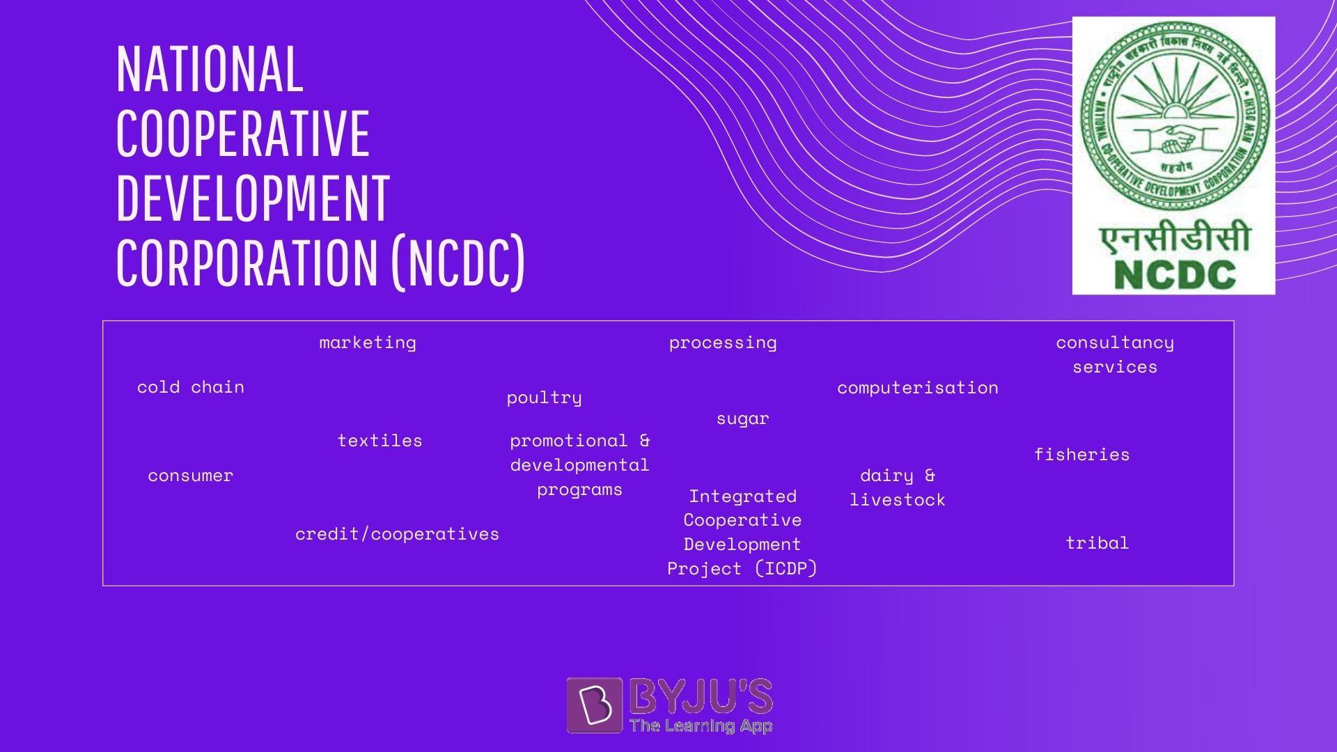 NCDC Activities