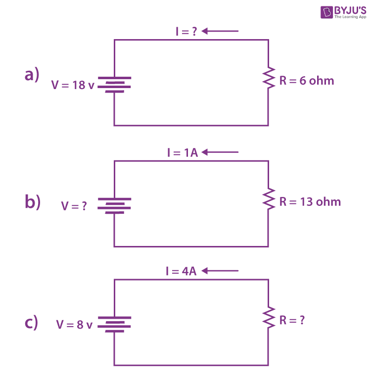 Ohm's Law Solved Examples