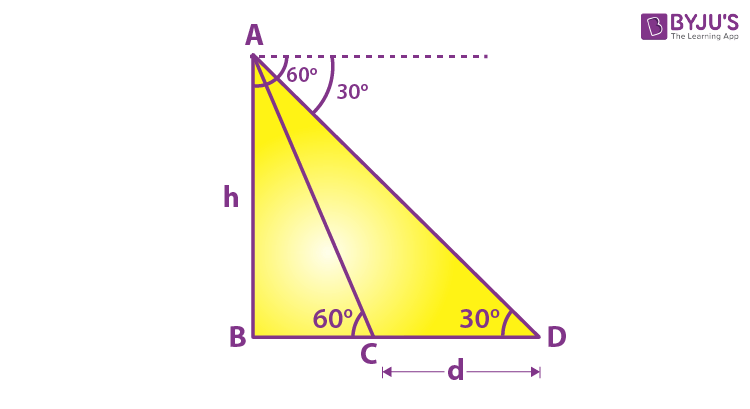 Example 7 Height And Distance Problem